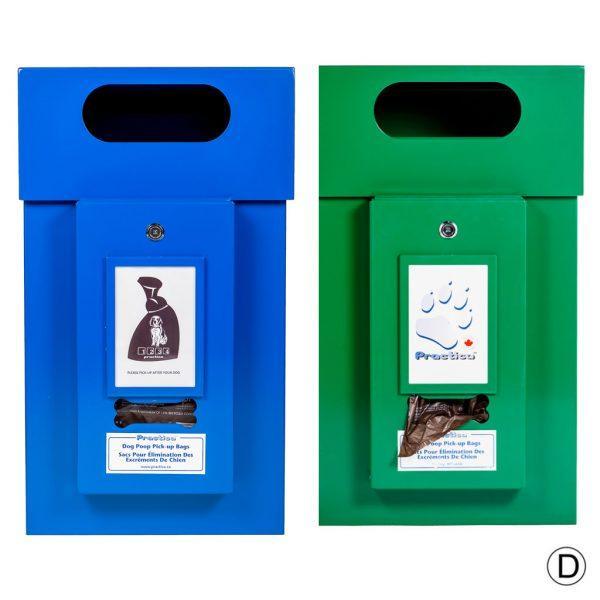 Dog Waste Bag Cans