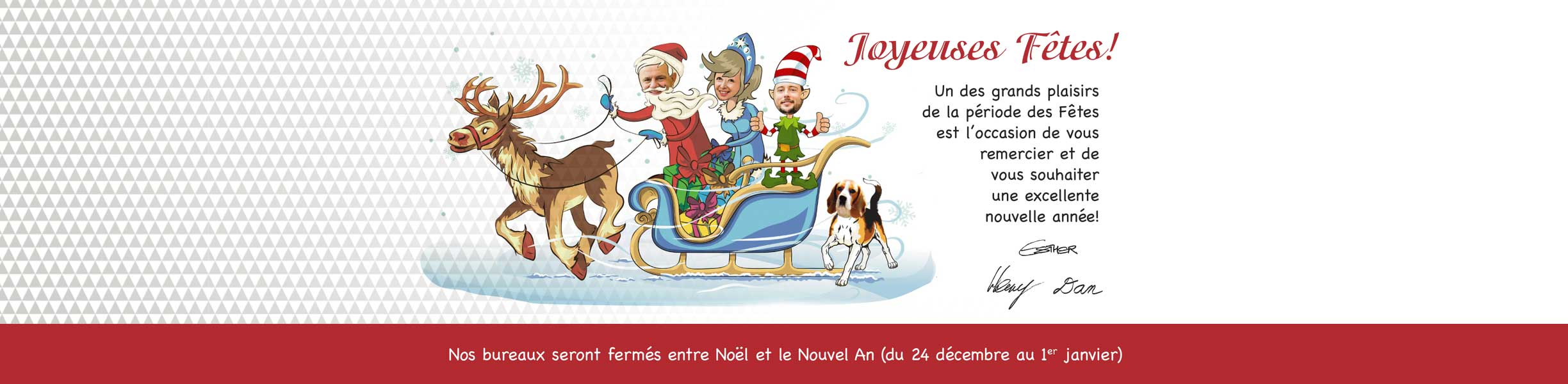Happy Holidays French - Practica